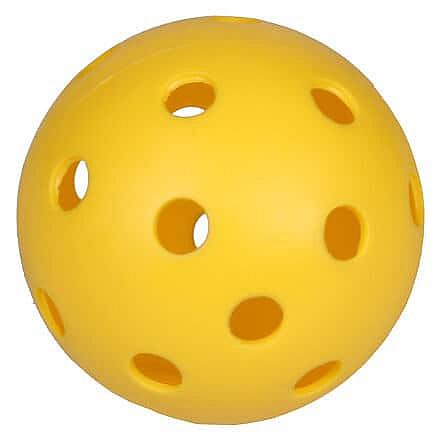 Strike florbalový míček žlutá