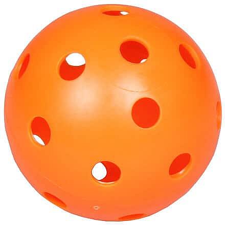 Strike florbalový míček oranžová