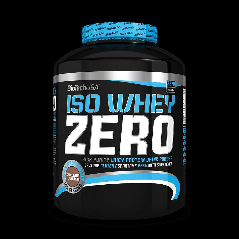 BioTech Iso Whey Zero 2270 g chocolate