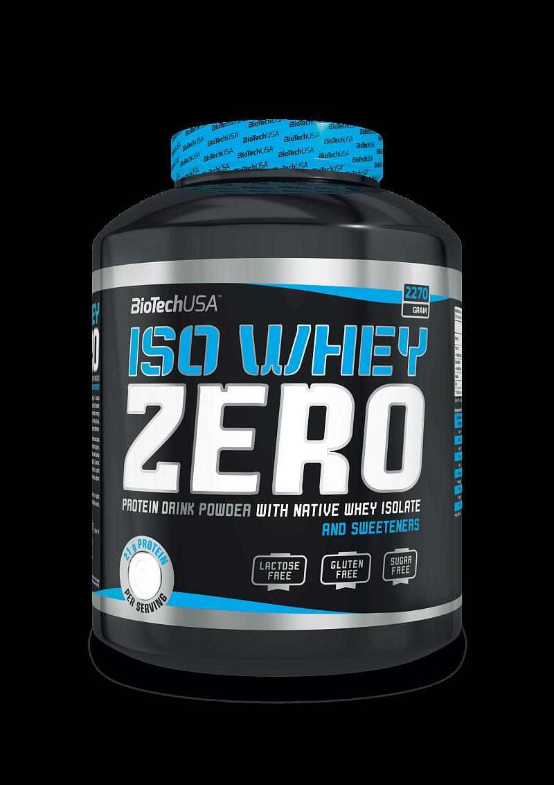 BioTech Iso Whey Zero 2270 g vanilla