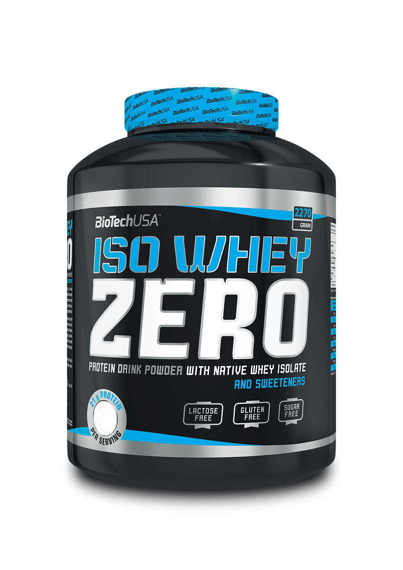 BioTech Iso Whey Zero 2270 g coconut