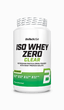 BioTech Iso Whey Zero Clear 1362 g lime