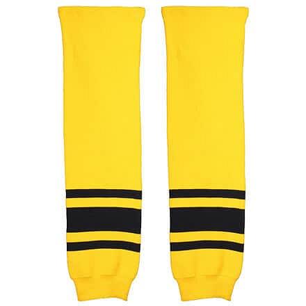 Malše hokejové štulpny žák žlutá-černá Balení: 1 pár