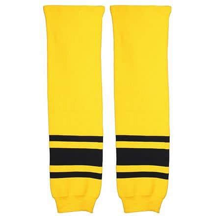 Loko hokejové štulpny junior žlutá-černá Balení: 1 pár