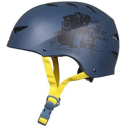Deluxe helma in-line modrá-žlutá Velikost oblečení: S