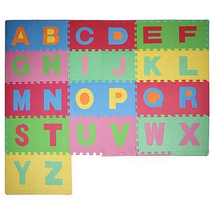 Písmena 3 pěnové puzzle
