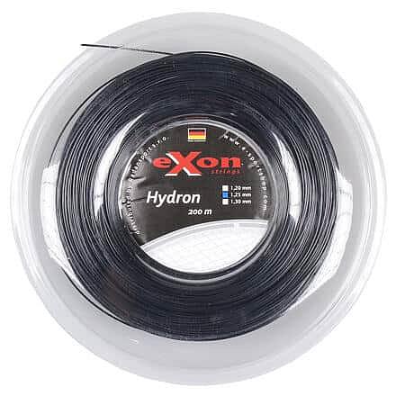 Levně Hydron tenisový výplet 200 m černá Průměr: 1,30