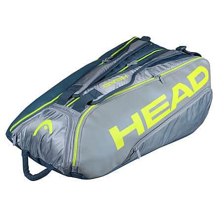Tour Team Extreme 12R Monstercombi 2021 taška na rakety šedá-žlutá