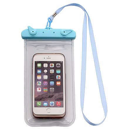 Travel pouzdro na telefon modrá