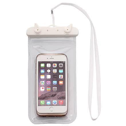 Travel pouzdro na telefon bílá