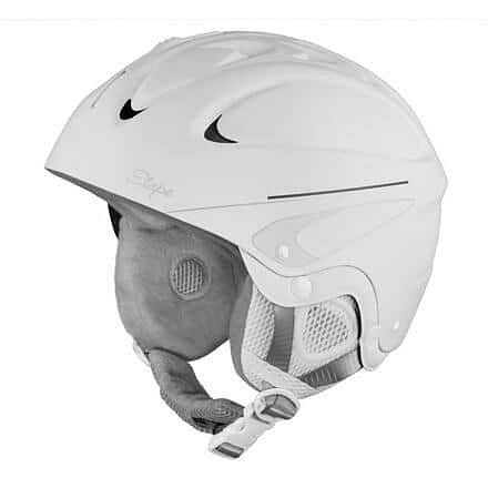 Levně Race lyžařská helma bílá Obvod: 48-52