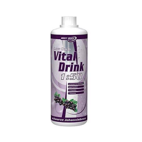 Low Carb Vital Drink 1:50 1000ml - VÝPRODEJ