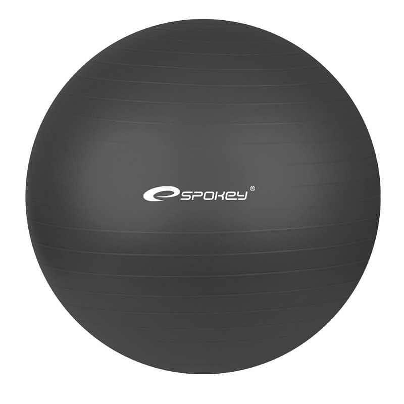 FITBALL- Gymnastický míč 55 cm včetně pumpičky,  černý