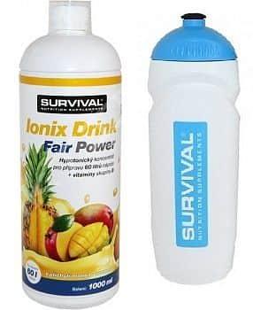 Ionix Drink Fair Power + bidon Survival pomeranč