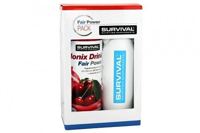 Ionix Drink Fair Power + bidon Survival