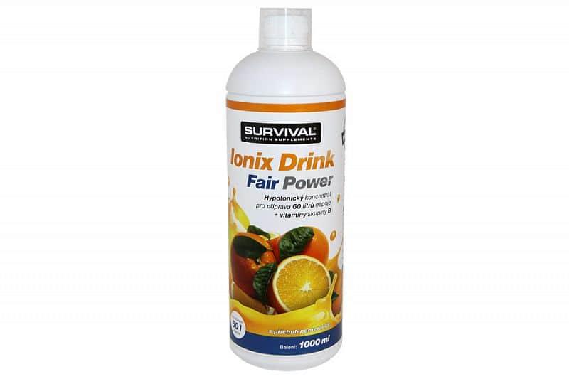 Ionix Drink Fair Power 1000ml pomeranč