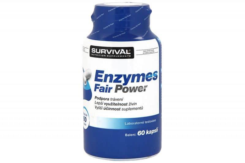 Enzymes Fair Power - trávicí enzymy 60 cps