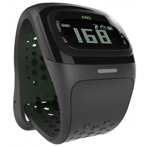 MIO Alpha 2 sportovní hodinky BT se senzorem srdečního tepu - černé Černé