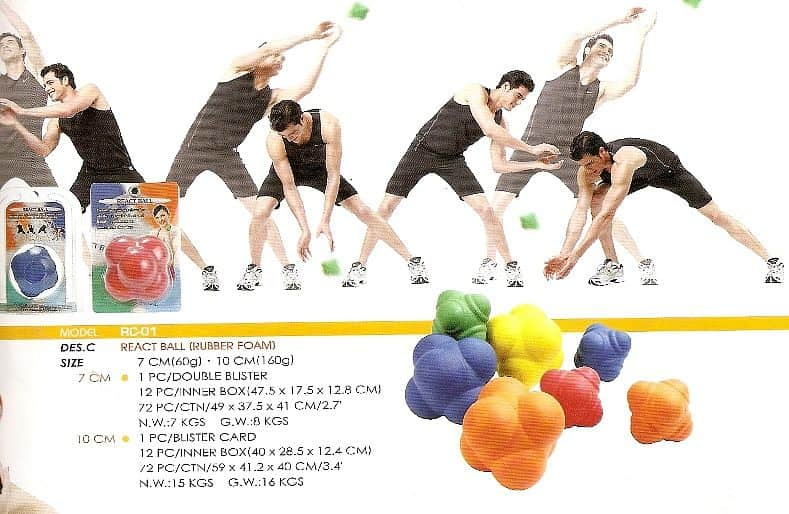 MÍČEK REACT BALL