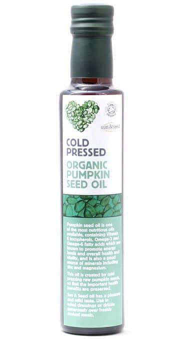BIO za studena lisovaný olej z dýňových semínek 250 ml