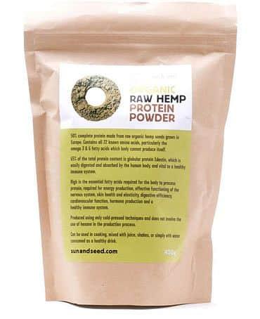 BIO RAW konopný protein 450 g