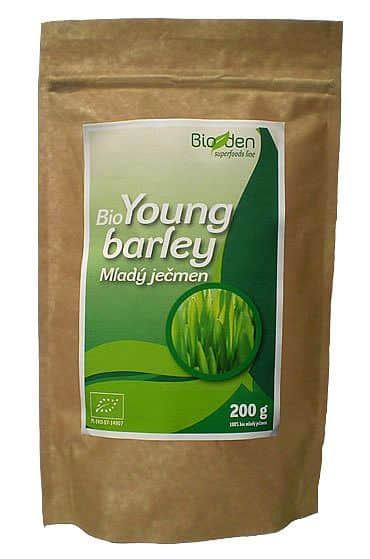 BIO mladý ječmen (Green Barley) – 200 g