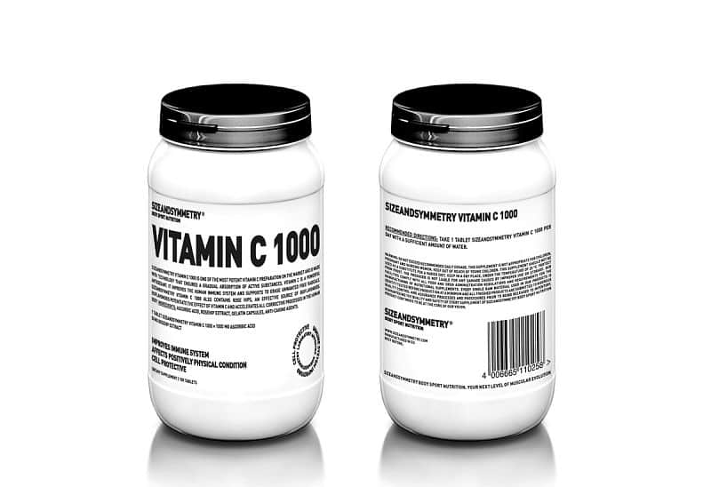 SizeAndSymmetry Vitamin C 1000, 100 tablet 100tbl