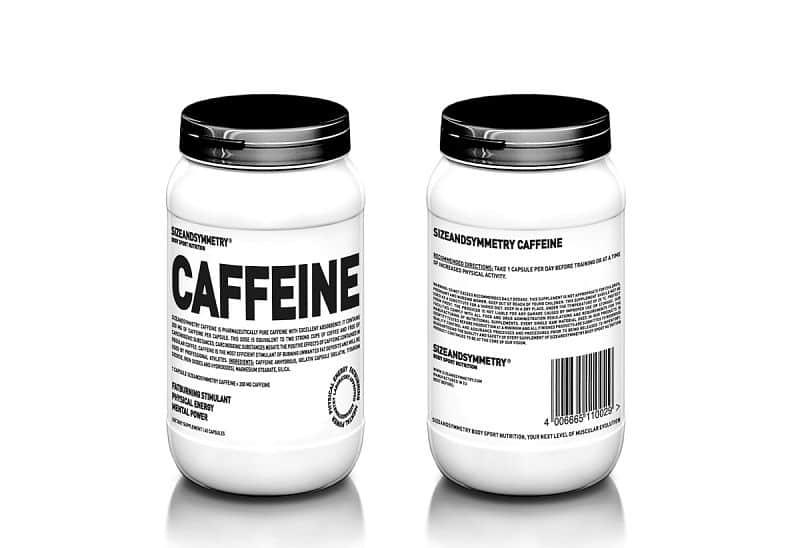 SIZEANDSYMETRY CAFFEINE + SYNEPHRINE 60 + 100 kps.