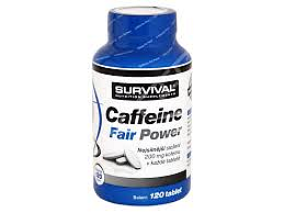 Caffeine Fair Power 120 tbl. 120 tbl