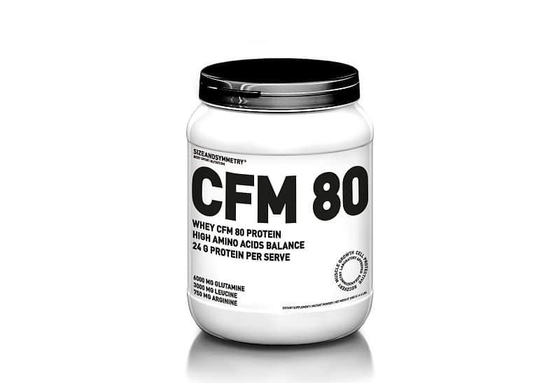 SizeAndSymmetry Whey CFM 80 2250 g Čokoláda 2250g