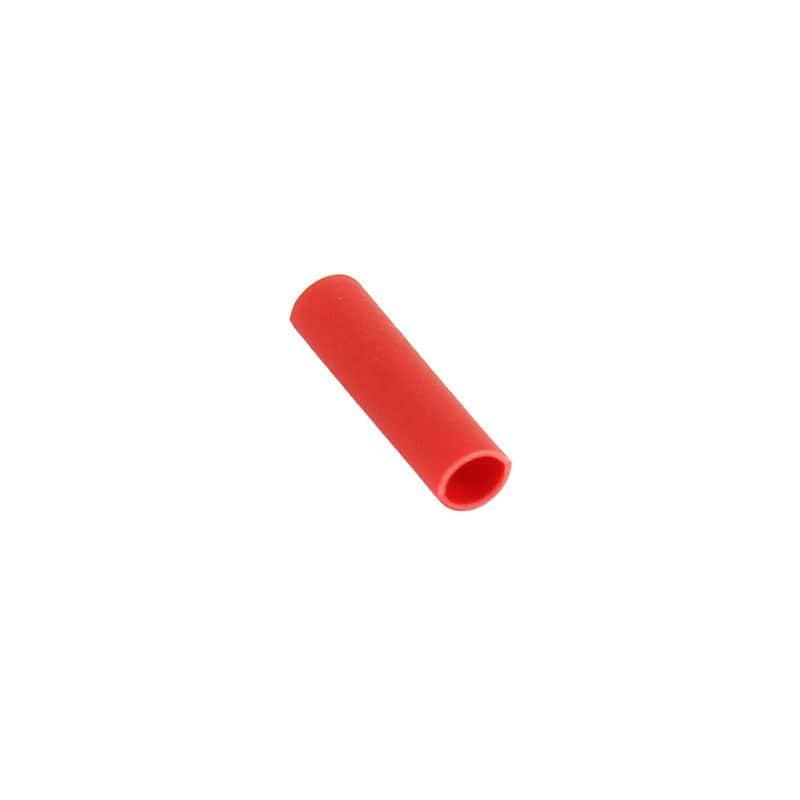 Koncovka lanka smršťovací KBends - 100ks - červená
