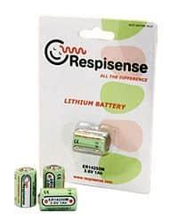 Respisense - náhradná batérie