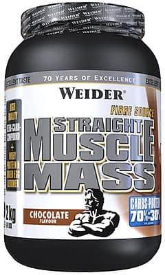 Straight Muscle Mass 2kg - Weider