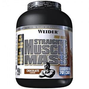 Straight Muscle Mass 4kg - Weider