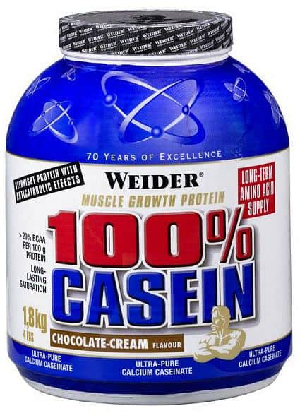 100% Casein - Weider 100% Casein 1800g - chocolate-coconut