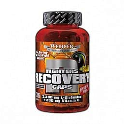 Fighters Recovery Caps+BCAA 135kapslí - Weider Just Fight
