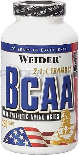 BCAA 260tbl. - Weider