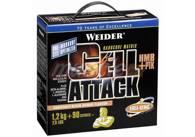 Cell Attack 1200g + 90 kapslí - Weider