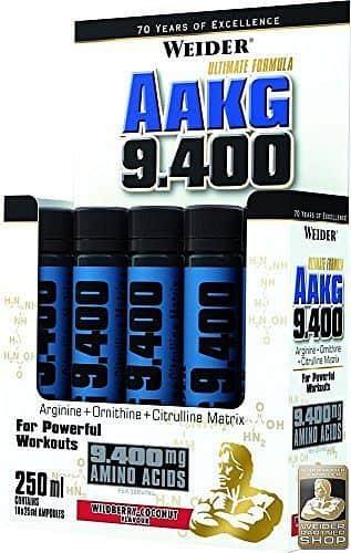 AAKG 9.400 10x 25ml. - Weider