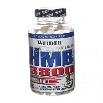 HMB 3800 120tbl. - Weider