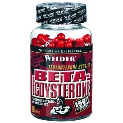 Beta-Ecdysterone 150 kapslí - Weider Beta-Ecdysterone 150 kapslí - Weider