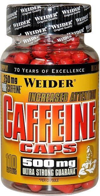 Caffeine caps 110kapslí - Weider