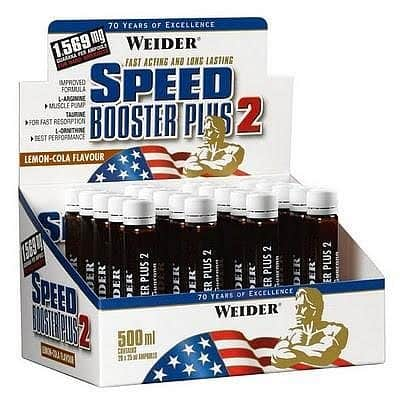 Speed Booster Plus 2 20 ampulí/25ml - Weider Speed Booster Plus 2 20 ampulí/25ml - Weider