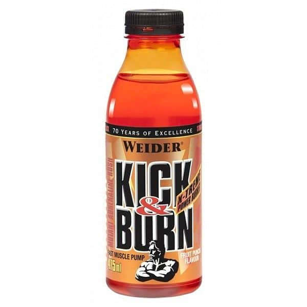 Kick & Burn 475ml. - Weider