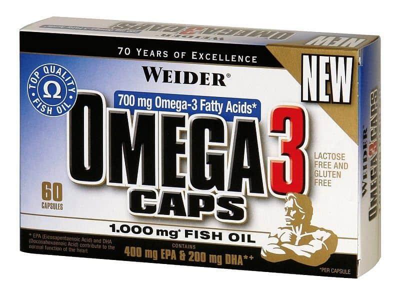 Omega 3 60 kapslí - Weider Omega 3 60 kapslí - Weider