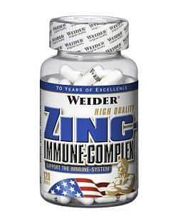 Zinc Immune Complex 120 kapslí - Weider