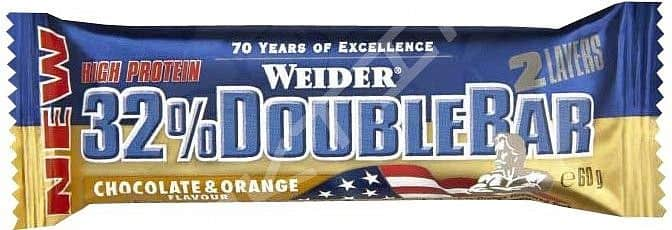 32% Double Bar 60g - Weider