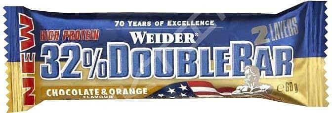 32% Double Bar 60g - Weider