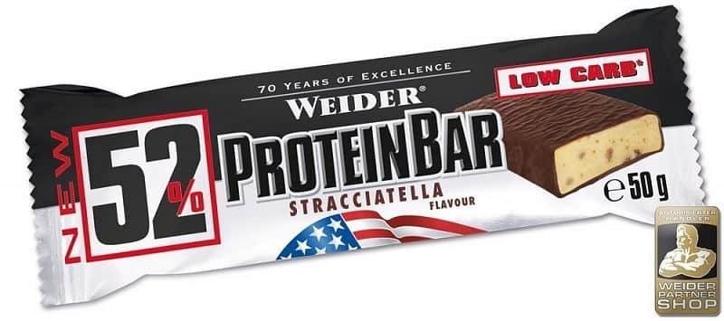 52% Protein bar 50g - Weider
