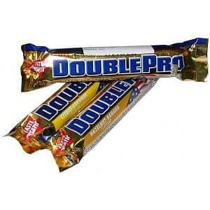 DoublePro - Weider DoublePro bar 100g - lískový oříšek-banán
